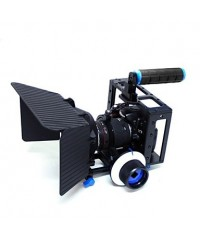 Top Handle Dslr Camera Cage With Matte Box And Follow Focus For Dslr Camera Video