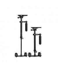YELANGU® 60cm Handheld Stabilizer, Camera Stabilizer Steadicam for Camcorder Video DV DSLR Camera (Black)