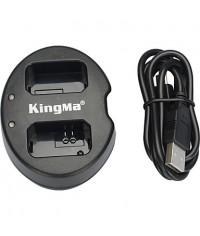 KingMa® Dual Slot USB Battery Charger for SONY NP-FW50 Battery for NEX-5C NEX-C3 NEX-7 A33 A55 NEX-5N NEX-F3 SLT-A37 NEX-7 Camera