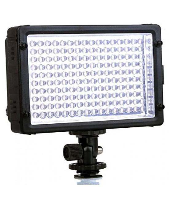 TRIOPO TTV-160 LED Video Light 10W 5500k Colour Temperature - Black